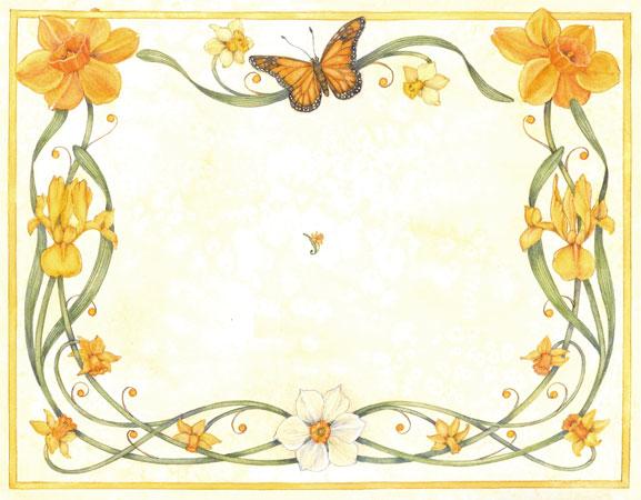 Daffodil Border – Jo Gershman